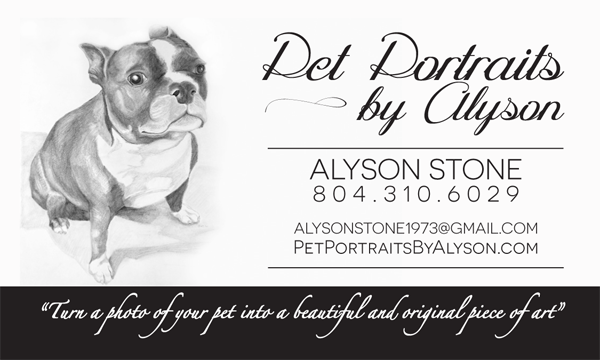 Pet Portraits by Alyson